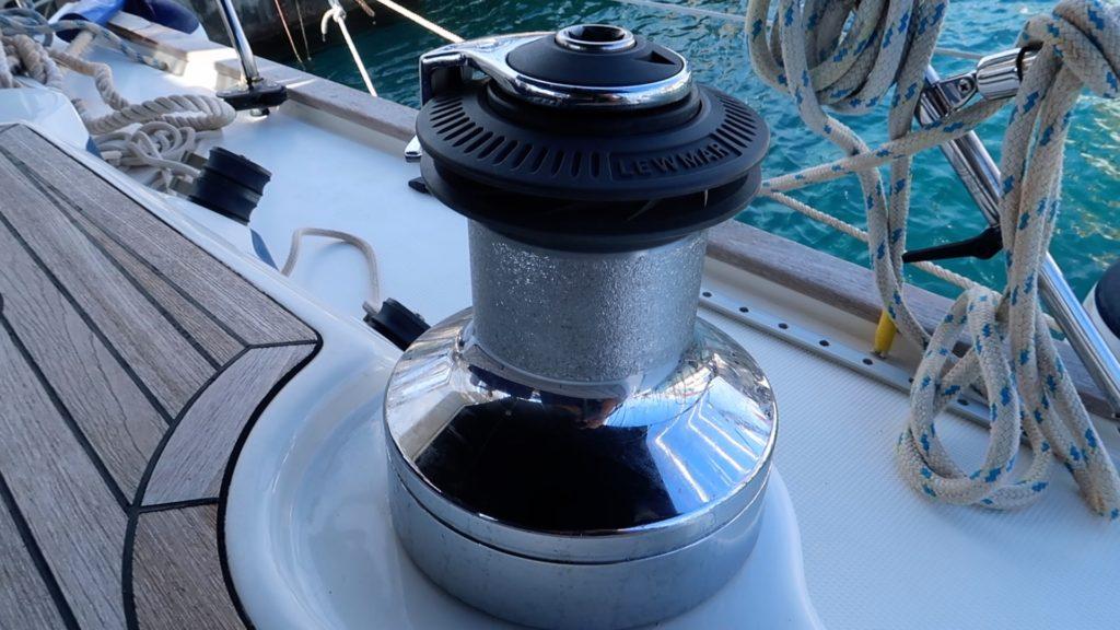 Lewmar Ocean ST50 winch